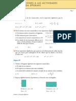 Álgebra 3º ESO - Ejercicios Resueltos 1