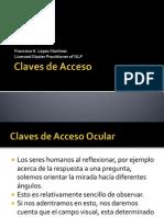 Claves de Acceso Ocular c
