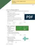 Álgebra 3º ESO - Ejercicios Resueltos 2