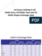 Copy Trends and Issues Relating to US Dollar Euro -
