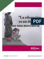 La Educacion Es Un Derecho