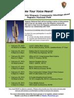 Saguaro NP Hispanic Focus_Group_Flyer