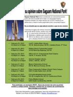 Saguaro NP Focus_Group_Flyer SPA