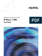 Nor Tel 1120 e User Guide