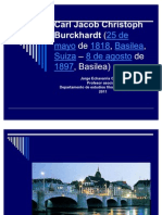 Carl Jacob Christoph Burckhardt (25 de Mayo