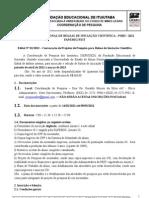 Edital 01 - FAPEMIG 2012