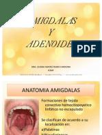 AMIGDALAS Y ADENOIDES