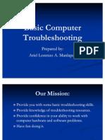 Basic Computer Troubleshooting