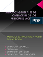 Metodos Generales de Obtencion de Los Principios Activos 2007