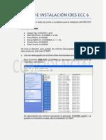 Manual instalación IDES