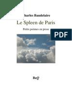 Baudelaire Spleen