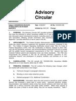 FAA Advisory Circular AC No