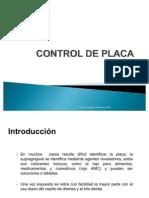 Control de Placa