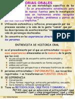 Historias Orales
