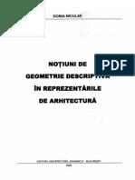 Doina Nicolae Notiuni de Geometrie Descriptiva Pentru Arhitectura