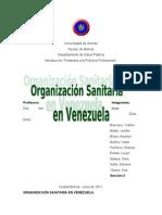 Organizacin Sanitaria en Venezuela