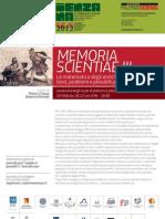 Memoria Scientiae III, Esperienza inSegna 2012