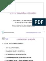 PROCESOS PSICOLÓGICOS BASICOS
