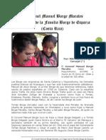 El Coronel MANUEL BORGE MORALES y el Origen de la Familia Borge de Esparza - Por MSc. Carlos Borge Carvajal