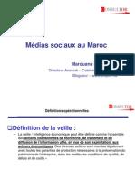 médias sociaux au Maroc
