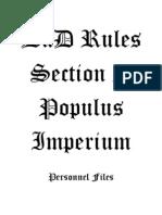 Section 2 Populus Imperium