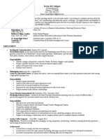 KevinMcGettigan Resume[1]