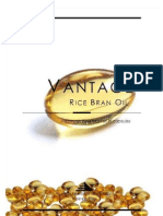 Vantage Japanese Rice Bran Oil