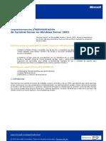 CAPITULO 6 Implementacion y Administracion de Terminal Server en Windows Server 2003