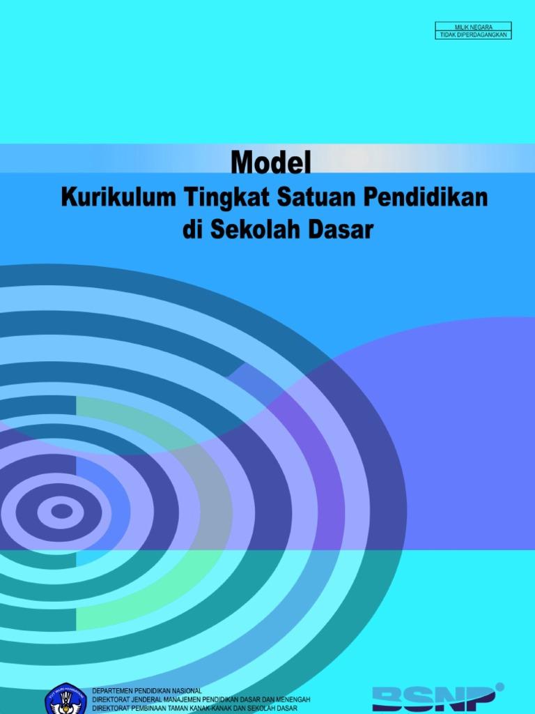 Model Ktsp Sd Kurikulum