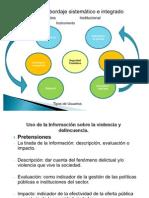 Uso de la Información sobre la violencia y delincuencia.