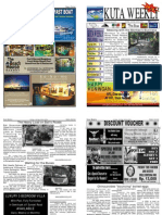 "Kuta Weekly-Edition 272 ""Bali""s Premier Weekly Newspaper"""