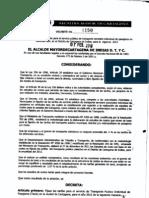 Decreto 0150 de Febrero 07 de 2012