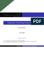 David Peters- Anisotropic Heisenberg Antiferromagnets