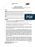 Requisitos Para Visa Temporal de Trabajador
