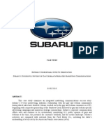 Subaru Case Study