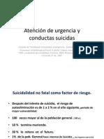Suicidio en Urgencia