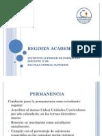 REGIMEN ACADEMICO ISFD N°60