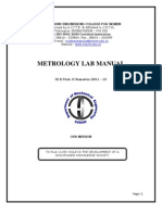 Metrology Lab Manual