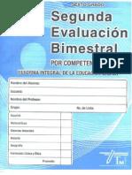 Examen 2do Bim Sexto Grado Editorial