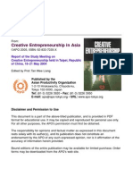 Is 14 Creative Entrepreneurship