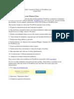 Configurar Un Blog en Word Press 2011