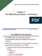 The 8085 Microprocessor Architecture