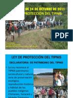 Ley 180 Socializada en El Tipnis