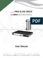 Redline An100u Ux User Manual