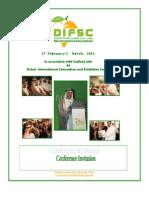 DIFSC Conference Invitation