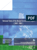 UNDP-DeNR (2009) National State of the Brown Environment Report