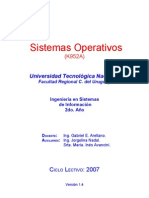 Programa SO 2007