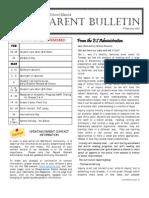ES Parent Bulletin Vol#12 2012 Feb 17