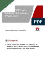OMO124000 BSC6900 GPRS EDGE V9R11 Build-In PCU Radio Network Optimization Parameters ISSUE1.03