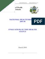 Health Report 1997-99-Solomon Islands